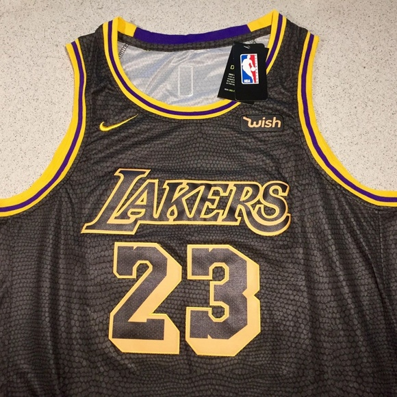 LEBRON JAMES LOS ANGELES LAKERS JERSEY - MENS LRG 3a881c3a6